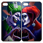 Joker and Harley Quinn Couple Custom Phone Case Cover For iPhone Samsung HTC etc