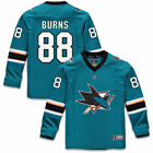 Fanatics Branded Brent Burns San Jose Sharks Youth Teal Replica Player Jersey