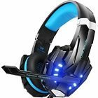 stereo headphones xbox one - Stereo Gaming Headset for Xbox One X Noise Cancelling Over Ear Headphones w/ Mic
