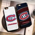 Montreal Canadiens Baseball MLB Team Silicone Case Cover for iPhone 6 7 8 X Plus $7.89 USD on eBay