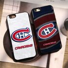 Montreal Canadiens Baseball MLB Team Silicone Case Cover for iPhone 6 7 8 X Plus $8.58 USD on eBay