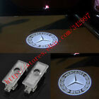 2x Ghost LED Door Step Courtesy Shadow Laser Light For Benz CLA Coupe·C117 13-16