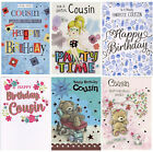 TRADITIONAL CUTE  COUSIN BIRTHDAY CARDS VARIOUS DESIGNS 1ST P&P GREETING CARD