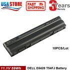 Lot 1-10x 58Wh Battery for Dell Latitude E5420 E6420 E6520 E6530 T54FJ M5Y0X