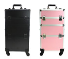 Trolley make up trousse TRASFORMABILE 2 in 1 trucco makeup beauty case valigia