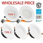 LED Downlight 4' 9W/12W 5/6' 15W Dimmable Retrofit Kit Recessed Ceiling Light US