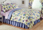 💗 ALL SIZES Floral Mayfield Bedroom Comforter Shams Set Bedding Bedskirt