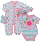 WATCH ME GROW Baby Girl 5 Pc Layette Outfit Set in Gift Bag BNWT Age 0-3 or 6-9m