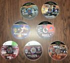 Lot of 7 Xbox  & 360 Games - Gears of War, Disc Only Light Wear. No Case