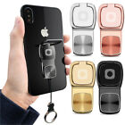 360° Universal Hook Metal Finger Ring Sticky Mount Stand Holder For Cell Phone