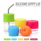 Silicone Sippy Cup Lid Straw Cover for Water Bottle Baby Toddler Spill-Proof XXF