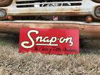 Antique Vintage Old Style Snap On Tool Sign