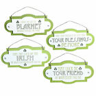 St Patricks Day Mini MDF Hanging Plaque - Choose Design