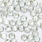 SS3-SS20 Crystal Clear Flatback Rhinestone Non Hotfix Nail Art Decoration DIY