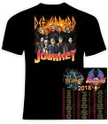 Kyпить Def Leppard and Journey 2018 t shirt, Sizes S-6X,  на еВаy.соm