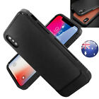 Luxury Leather TPU Bumper Shockproof Heavy Duty Hard Case Cover F Apple iPhone X