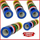 Electrical Pvc Insulation Insulating Tape Flame Retardant Rolls Various Colours