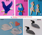 """ASSORTED BIRDS - CERAMIC MOSAIC TILES for your project 1/4"""" thick #3"""