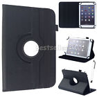 """US For Nextbook 7"""" 8"""" 10.1"""" Tablet Universal PU Leather Stand Folio Case Cover"""