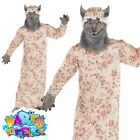 Child Big Bad Wolf Granny Costume Red Riding Hood Book Week Day Fancy Dress Kids