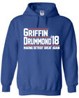 "Blake Griffin Detroit Pistons ""Griffin Drummond 18"" Hoodie SWEATSHIRT on eBay"