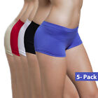 Внешний вид -  5-Pack Women's Seamless Spandex Boyshort Underskirt Pant Short Leggings