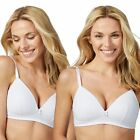 The Collection Womens 2 Pack Non-Wired Padded T-Shirt Bras From Debenhams Size