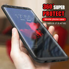 Hybrid 360° New Shockproof Case Tempered Glass Cover For Samsung Moble Phones