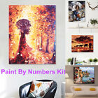 diy scenery lover paint by number kit