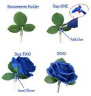 Boutonniere Holder-Make your own beautiful prom event flower in seconds