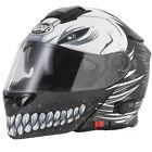 VCAN V271 BLINC BLUETOOTH MOTORCYCLE HELMET MATT BLACK HOLLOW