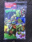 Teenage Mutant Ninja Turtles Boys Briefs Size 4 Nicelodeon 4 Pack New