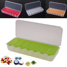 Travel Pill Cases Portable 7-Day Medicine Box Tablet Dispenser Storage Container