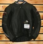 RST 'BLADE' 'BLACK' LEATHER MOTORCYCLE JACKET - SIZE 46 - SAVE 30% OFF RRP