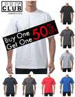 charcoal buy - PRO CLUB  BUY ONE GET ONE 50% OFF Men's Heavyweight Cotton Crew Neck T-Shirt