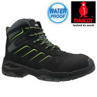 MENS MASCOT WATERPROOF SAFETY COMPOSITE TOE CAP COMBAT WORK ANKLE BOOTS SHOES