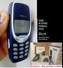 Original Nokia 3310 Mobile Phone Boxed New Warranty First Class Uk London Stock