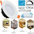 """12W 4"""" Dimmable Retrofit LED Recessed Light Downlight *No Housing Can Needed* OY"""