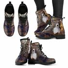 Unisex Pitbull Lover Leather Boots
