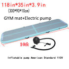 Portable Air Track Floor Home Inflatable Yoga GymnasticsTumbling Mat GYM