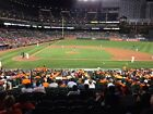 2 Tickets  Baltimore Orioles Los Angeles Angels Section 23 Row 1 Sat 6/30/18