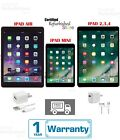 Apple iPad 2,3,4 Mini Air 16GB 32GB 64GB 128GB WiFi +Cellular 9.7|7.9 In Gold