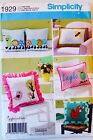 U PICK! Vtg PILLOW Sewing Patterns, Child Pillow Chairs, Nap Packs Home Decor UC
