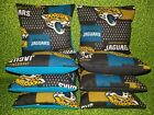 Jacksonville Jaguars Jags Set of 8 Cornhole Bean Bags FREE SHIPPING $27.99 USD on eBay