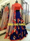 Indian Bollywood Lehenga Choli Ethnic Wedding Bridal Party Wear Lehenga MLC