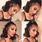 360 Lace Frontal Wig Glueless Natural Indian Virgin Human Hair Full Wigs Wavy ho