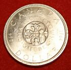 1964 CANADA DOLLAR AU+ 80% SILVER GREAT COLLECTOR COIN GIFT CAD07