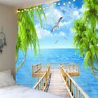 Creative 3D Tapestry Hanging Poster Waterproof Tapestry Seascape Series A