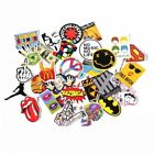 Navadeal Assorted 30 Pack Rock N Roll Music Band Vinyl Suitcase Skateboard Lapto