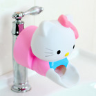 New Bathroom Faucet Spouts Hellokitty Extender Baby Kids Hand Washing Sink ly5